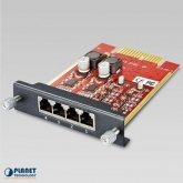 Planet 4-Port Life-Line module for IPX-2100 / IPX-2500 (2*FXO + 2*FXS)