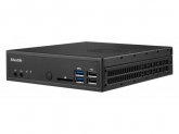 Shuttle Slim-PC Barebone DH170 1.3 Litri LGA 1151 BLACK, Intel H170 Chipset, Triple Monitor, Support