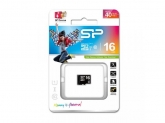 Memory Card Silicon Power Micro SDHC 16GB, Clasa 10