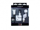 TnB  3-IN-1 RECHARGE PACK FOR IPHONE