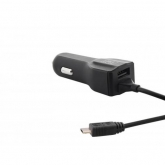 TnB  3A CAR CHARGER:MICRO USB+USB PORT