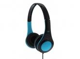 TnB  DOTCOM BLUE HEADPHONES WIRED,ADJUSTABLE HEADBAND