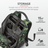 TRUST GXT 1255 OUTLAW GAMING BACKPACK - CAMO