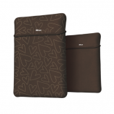 """TRUST Yvo 15.6"""" Laptop Sleeve and Wireless Mouse - Brown Harts"""