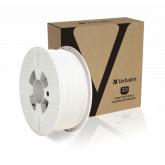 Verbatim 3D PRINTER FILAMENT PLA 1.75MM WHITE 1KG