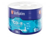 Verbatim  CD-R 52X 700MB 50PK SHRINK