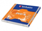 Verbatim DVD-R AZO 16X 4.7GB MATT SILVER SURFACE Jewel Case