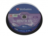Verbatim  DVD+R DOUBLE LAYER 10SPD 8.5GB