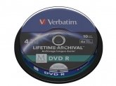 VERBATIM M-DISC DVD R 4X 4.7GB PRINT SP10