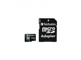 Verbatim  MICRO SDHC CARD 8GB CLASS 10 with adapter