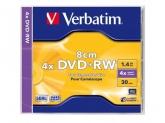 Verbatim  MINI DVD+RW 8CM 4X 1.4GB
