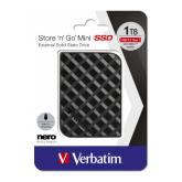 VERBATIM STORE 'N' GO MINI SSD USB 3.2 GEN 1 1TB BLACK