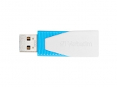 Verbatim Store n Go Swivel USB Drive Blue 8GB