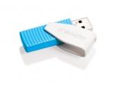 Verbatim Store n Go Swivel USB Drive Blue 8GB