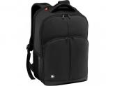 Wenger, Link 16 inch Laptop Backpack, Black