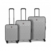 Wenger Lumen Hardside Luggage Set, Silver ( R )