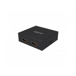 APPROX 2 ports metal HDMI Splitter 1080P w/4K Upscaling
