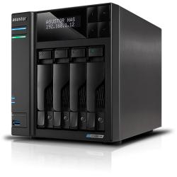 Asustor 4 BayNAS, Intel Gemini Lake -Refresh Quad-Core, 4GB DDR4 SODIMM