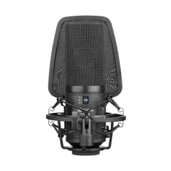 Boya BY-M1000 Microfon XLR Wide Studio Condenser cu Shockmount si Pop Filter