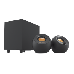 CREATIVE PEBBLE PLUS 2.1 USB Speakers - black