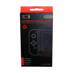 Gioteck - 9H Premium Tempered Glass Screen Protector Kit for Nintendo Switch ENG Nintendo Switch