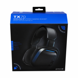 Gioteck - TX70 Wireless RF Stereo Gaming Headset for PS5, PS4 & PC MULT Multi-Platform