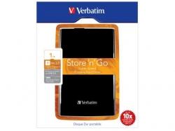 Hard Disk Portabil Verbatim Store 'n' Go 1TB, USB 3.0, 2.5inch ,Black