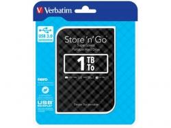 """HDD EXTERN 2.5"""" Verbatim Store 'n' Go USB3.0 1TB gen.2 black """"53194"""""""