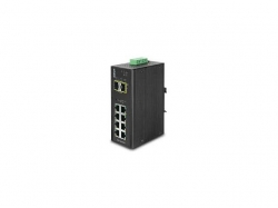 IP30 Industrial 8* 1000TP + 2* 100/1000F SFP Full Managed Ethernet Switch