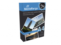 MediaRange  A4 photopaper glossy 100 sheets 160g