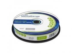 MediaRange DVD-R 4,7GB 16X Cake10