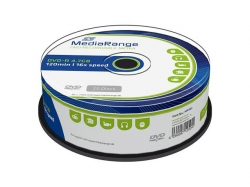 MediaRange DVD-R 4,7GB 16X Cake25