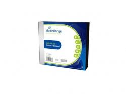MediaRange DVD+R 4,7GB 16x Slimcase Pack5