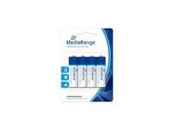 MediaRange Premium Alkaline Mignon Batteries AA/LR6/1.5V PACK 4