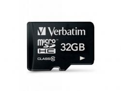 Memory Card Verbatim Premium MicroSDHC, 32GB, Class 10