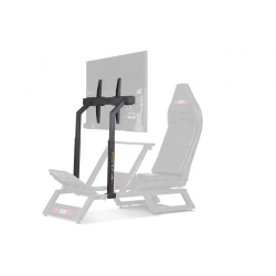 Next Level Racing F-GT Cockpit Monitor Stand Matte Black for 1or3 displays