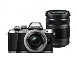 Olympus E-M10 Mark II  Pancake Double Zoom kit silver