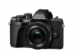 Camera foto Mirrorless Olympus E-M10 Mark III Pancake Zoom, 16.1MP, Black