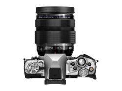 Camera Foto Olympus E-M5 Mark II silver + EZ-M1240 PRO black + Lens Hood