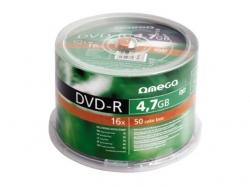 Omega  DVD+R 4.7GB 16x CAKE 50
