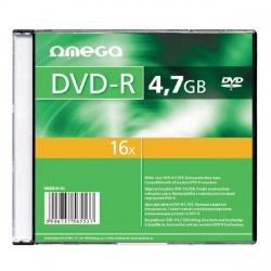Omega  DVD-R 4.7GB 16x Slim Case 10 Pack