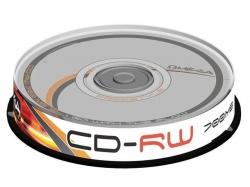 OMEGA FREESTYLE CD-RW 700MB 12X CAKE*10
