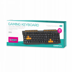 OMEGA GAMING KEYBOARD OK-26US - USB black/orange