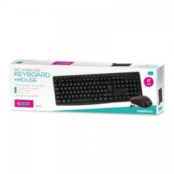OMEGA KIT OKM071 KEYBOARD + MOUSE fara FIR  - BLACK