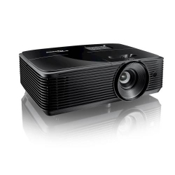 Optoma XGA 3700 lumeni, 22.000:1, Inputs 1 x HDMI 1.4a 3D support, 1 x VGA (YPbPr/RGB), 1 x Composite video, 1 x Audio 3.5mm Outputs 1 x VGA, 1 x Audio 3.5mm, 1 x USB-A power 1A Control 1 x RS232