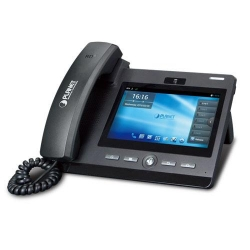 Planet HD Touch Screen Android Multimedia Conference Phone, Android 4.2, SIP2.0, HD Voice, 7 inch TF