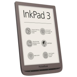 PocketBook Inkpad 3 Dark Brown - eBook Reader premium cu ecran tactil capacitiv (multisenzor) de 7.8