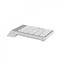 TNB WIRELESS Numeric Keypad, white, 19 keys - USB dongle