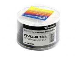 TRAXDATA DVD-R 4.7GB 16X SP50 WHITEFF PRINTABLE