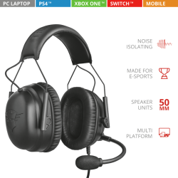 TRUST GXT 444 Wayman Pro Gaming Headset